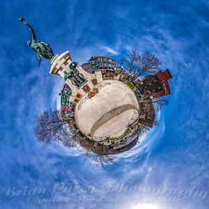National War Memorial - Little Planet