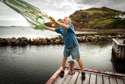 Fisherman, Melvin Horwood, Box 86, Durell, NL A0G 1Y0
