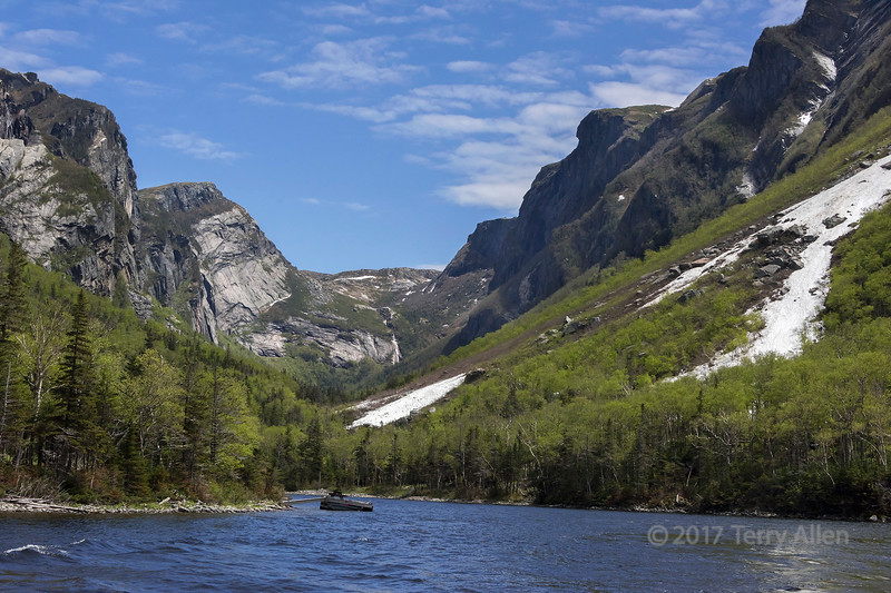 Head of Western Brook Pond, Gros Morne National Park, Newfoundland