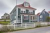 Historic Trinity, salt box houses, Newfoundland