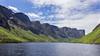 Land-locked fjord