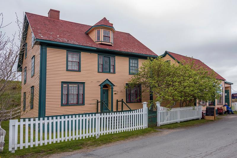Old salt box house, High Street, Trinity, Newfoundland
