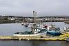 Fishing boats at the wharf, Bonavista Harbour, Newfoundland