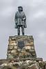 Statue of John Cabot (Giovanni Caboto), May, 1497, landfall, Cape Bonavista, Newfoundland