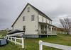 Old salt box house, historic Trinity, Newfoundland