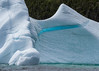 Blue ice, Cuckold Cove, Bonvista Peninsula, Newfoundland