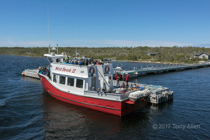 Western Brook tour boat, Gros Morne National Park, Newfoundland