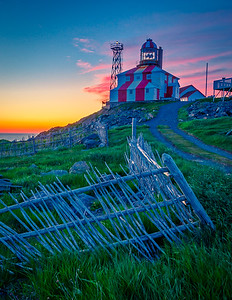 Cape Bonavista Lighthouse at Dawn