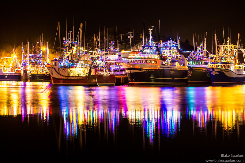 Fishing Boat Christmas Lights