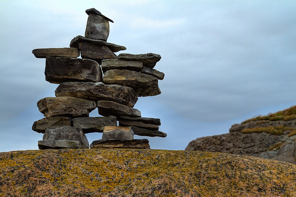 Inuksuk at Cow Head
