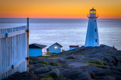 Dawn at Cape Spear Lighthouse
