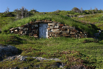 A root cellar in Cape Bonavista.