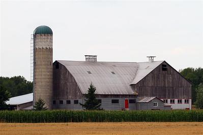 Amish farm near Elmira