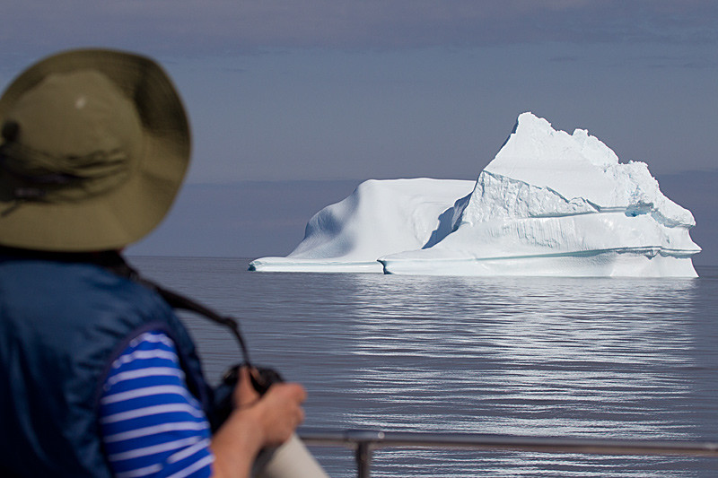 Approaching a Huge Iceberg