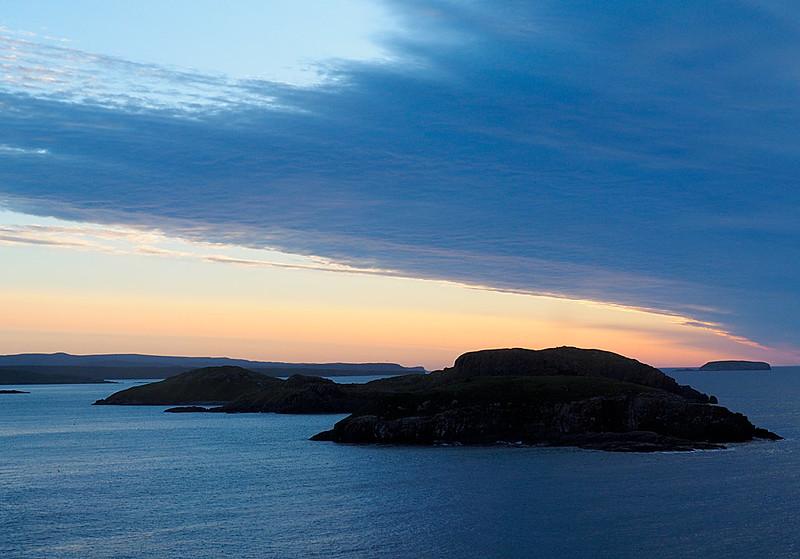 Sunset Newfoundland