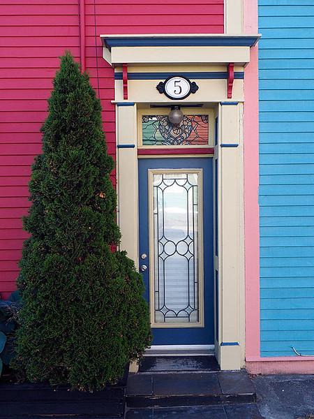 Row House St John's Front Door