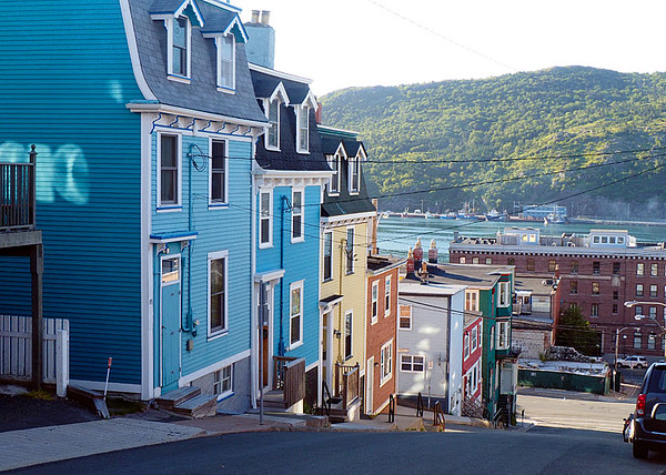 Row Houses St John's & Harbor