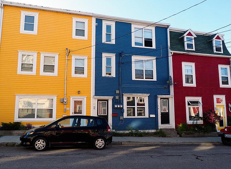 Row Houses St John's