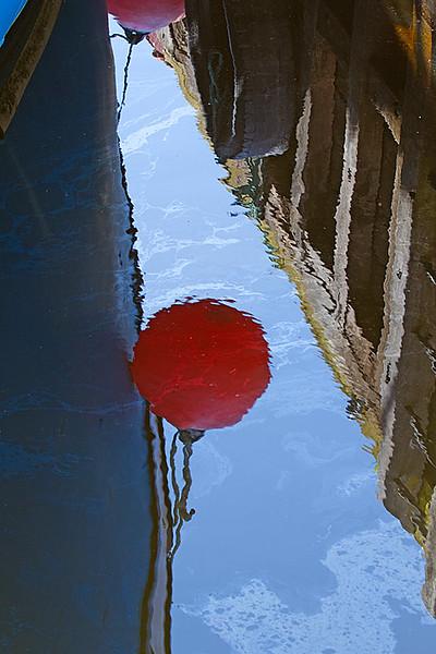 Balloon Fender Bumper Reflection Wharf reflection