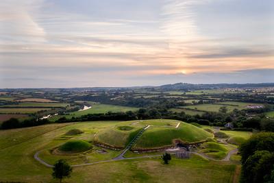 Sundown at Knowth