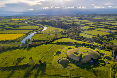 Knowth on the Banks of the Boyne