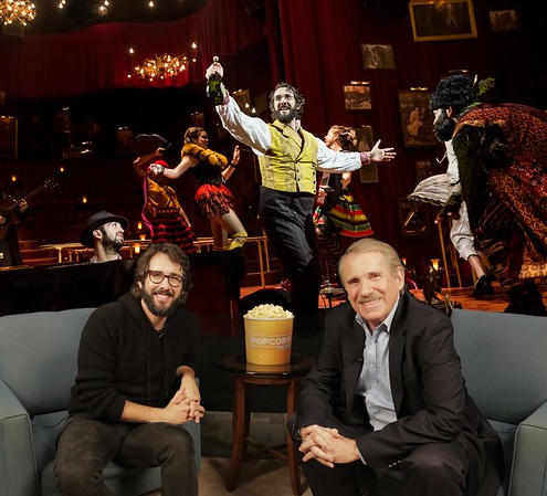 Popcorn on ABC @PopcornABCNews  11/17/16 @joshgroban Debuted on #Broadway this Week in @GreatCometBway Come Here for Full Interview Tomorrow #PopcornABC #FollowTheComet #grobanite