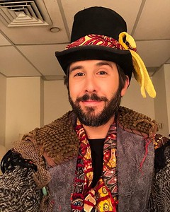 12/31/19 - joshgroban Verified Happy New Year everyone!! Be safe, have fun, and wishing everyone a wonderful 2020. Don't get too caught up this week about where you are, where you wanna be, where you're going...just be good to yourselves and each other and go towards where the inspiration is...even if it doesn't make immediate sense. Take it from a depressive who hasn't always been perfect, that can be hard as a constant muscle to keep working...But fulfillment and comparison don't go hand in hand and learning to self love is the first step in being better to others. Jerry Springer first taught me that when I was at home sick 4th-6th grade. P.S. Can't tell you what this costume is for yet but it was one of the best days of my life. Thank you all for a really fun and fulfilling decade. Can't wait for what's next!