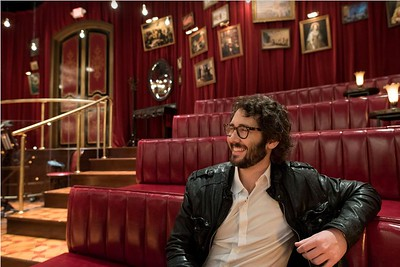 timestalks 9/24/16  Do you have your ticket to this week's TimesTalks with Josh Groban and the team behind @greatcometbway? Buy now on TimesTalks.com! 📸: Gretchen Ertl