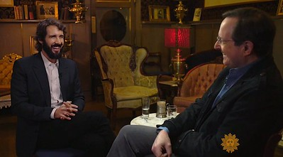 """Anthony Mason @AnthonyMasonCBS  10/30/16  """"It was more emotional than I thought it would be"""" - @JoshGroban on making #Broadway debut in @GreatCometBway @CBSSunday"""
