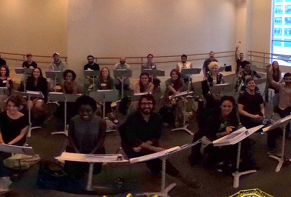 The Great Comet  9/13/16 A 360º look at yesterday's first rehearsal with the cast of The Great Comet! #TheCometIsComing  https://www.facebook.com/GreatCometBway/photos/a.156808301147081.1073741828.154733004687944/606483502846223/?type=3&theater