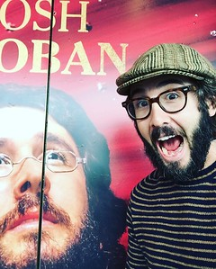 joshgroban  9/16/16  Visited the Imperial for the first time today since construction started and our mugs got plastered everywhere. My heart flew out of my chest. What they are doing with this theater is gonna be nothing short of transformative. I'm so excited (pictured.) #followthecomet #prepareforpierre