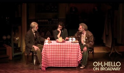 OhHelloShow @ohhelloshow  10/9/16 .@joshgroban, our equal in level of talent, had entirely #2much2na. @mulaney @nickkroll #OhHelloBroadway  https://twitter.com/ohhelloshow/status/785249511702536192