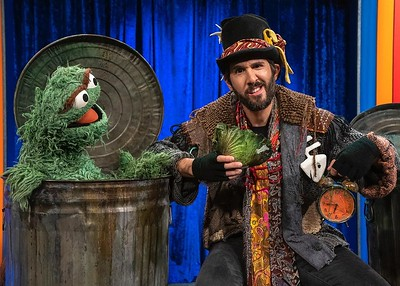 7/20/20 -  Stopping by the #NotTooLateShow with @elmo and singing the classic song, I Love Trash with my buddy Oscar! Stream this Thursday on @hbomaxfamily.