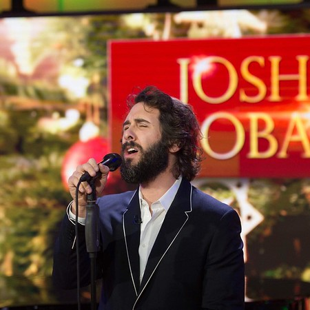 "todayshow  11/28/16  Nothing says holiday season like a rendition of ""Have yourself a merry little Christmas"" from #JoshGroban. #TODAYShow (photo via @photonate)"