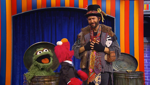 7/23/20 - Season 1, Episode 11 - The Not-Too-Late Show with Elmo on HBO Max.