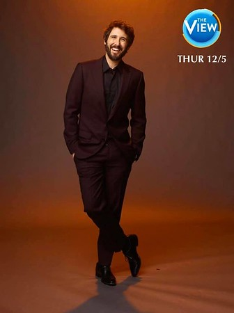 11/28/19 - joshgroban Verified Tune in next Thursday when I'll be a guest on @theviewabc! Doodily doo!