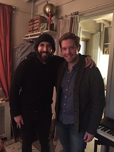 josh groban 2/11/17 Tfw your CMU college buddy, @BCEFA rival, and Broadway royalty @RoryOMalley visits you at @GreatCometBway!!