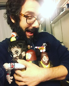 joshgroban  1/5/17  I LOVE MY PIERRE FAN DOLL COLLECTION (send help.)