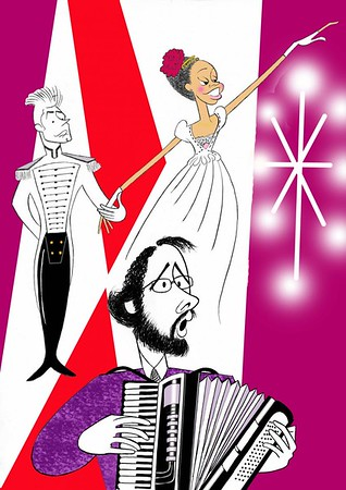 BWW Exclusive: Ken Fallin Draws the Stage - NATASHA, PIERRE & THE GREAT COMET 1812