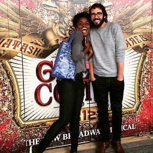 joshgroban   9/17/16  Week 1 of rehearsals DONE!!! We all went to the theater again today, and we just can't help but geek out every minute. What a cast, what a show. Can't wait for week 2. Thanks @deneebenton for making any picture 10 x better and thanks @nickchoksi for taking it! #followthecomet