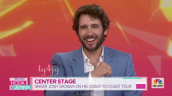 5/10/19 The Today Show - Josh Groban on new 'Bridges' album and tour