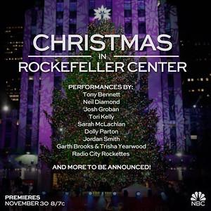 Josh Groban, Tony Bennett & More Set for NBC's CHRISTMAS IN ROCKEFELLER CENTER, 11/30