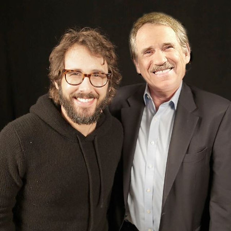 "petertravers  11/18/16  Congrats to my Popcorn guest Josh Groban for winning deserved raves for his Broadway debut in the electropop musical ""Natasha, Pierre & The Great Comet of 1812."" He plays Pierre. When he's not acting in movies (""The Hollars"") or co-hosting ""Live With Kelly,"" Groban is a global singing superstar (""You Raise Me Up,"" ""The Prayer"") who has sold over 25 million records and continually fills concert halls with devoted fans. His most recent CD, ""Stages,"" is packed with show tunes that reflect his love of Broadway and it traditions. And now he's living the dream nightly in an immersive production that puts audiences practically in his lap. But watch your cell phones, if you buy a ticket. Groban gets angry in character as Pierre. ""Let me tell you something, you don't want to piss off Pierre. He is drunk and ornery."" Josh himself is anything but. It was a pleasure geeking out with him. And when he ends the show with an acapella version of ""Smile,"" you really will hear the voice of an angel."
