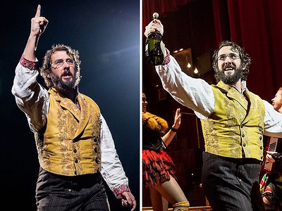 broadwaycom  11/11/16   Monday vs. Friday ☄️More @greatcometbway photos coming your way on the site! 📸 Chad Batka