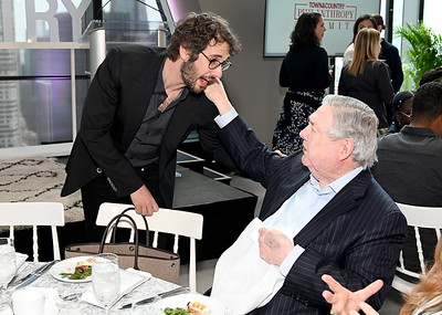 5/8/19 - In This Photo: Josh Groban, Frank A. Bennack Jr Josh Groban and Hearst Exec. Vice Chairman & Former CEO Frank A. Bennack Jr. at the 2019 Town & Country Philanthropy Summit Sponsored By Northern Trust, Memorial Sloan Kettering, Pomellato, And 1 Hotels & Baccarat Hotels on May 08, 2019 in New York City.