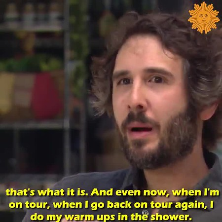 5/23/20 - CBS Sunday Morning Sun with face @CBSSunday Tomorrow on #SundayMorning  @JoshGroban  on singing in the shower and connecting with his fans through social media. @ThatTracySmith  reports. https://cbsn.ws/2LVi3Wp