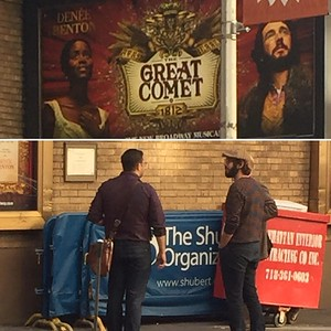 robertrioslive   9/16/16   When you get to see the Marquis of the show ur friend's gonna be in... Then see the star of the show chillin outside. #JoshGroban #Grobanators #AlwaysSunny #PaulPinto #ISeeU #LaG #Fam
