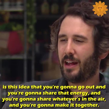 """5/23/20 - CBS Sunday Morning Sun with face @CBSSunday Ahead on #SundayMorning  @ThatTracySmith  chats with @JoshGroban  about trying to be Zen during the crisis, as well as what he misses about live performance. Groban also debuts his new song, """"Your Face."""" https://cbsn.ws/2ANlWdJ"""