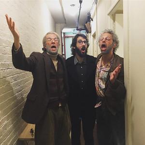 OhHelloShow @ohhelloshow 10/9/16  The Three Tenors or should I say The Three Tunars! Cuz Tuna certainly hit a high note #TunaPrankAlwaysFunny #2much2na Thank you @joshgroban!  https://twitter.com/ohhelloshow/status/785253411365224449