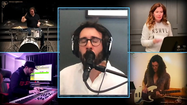 """5/24/20 - joshgroban Verified """"Your Face""""  Here's a song about what hope means to me right now. Wrote it a few weeks ago. Thanks to @tommeeprofitt, @lauramendepix, @richspillberg and these wonderful musicians for helping make it fly in such short time. Maybe I'll release a track of it someday but for the moment just wanted to sing it for you from my little corner. Link to full YouTube performance in bio. Hope you enjoy it!"""